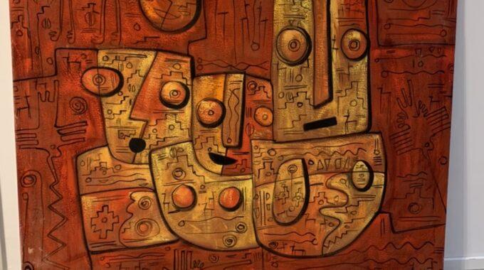 Ölbild Aus Cusco